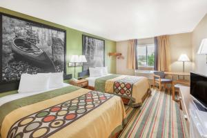 Super 8 by Wyndham Grayling, Hotels  Grayling - big - 16