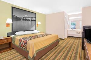 Super 8 by Wyndham Eufaula, Hotels  Eufaula - big - 22