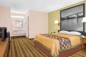 Super 8 by Wyndham Eufaula, Hotels  Eufaula - big - 27