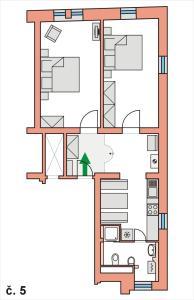 Apartmany U Divadla, Ferienwohnungen  Karlsbad - big - 12