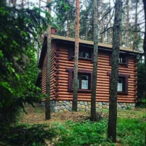 Tarczyny - dom nad jeziorem