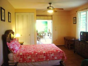 Queen Studio with Pool View Dos Angeles del Mar Bed and Breakfast
