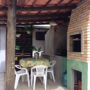 Residencial Gringos Verde e Laranja, Apartments  Bombinhas - big - 34