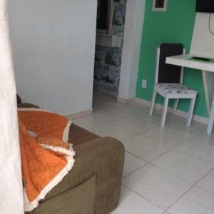 Residencial Gringos Verde e Laranja, Апартаменты  Бомбиньяс - big - 33