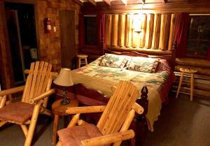 Rustic Log Cabins, Lodge  Lisbon - big - 20
