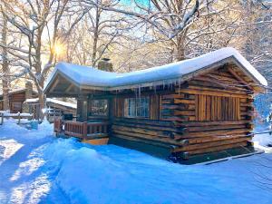 Rustic Log Cabins, Lodge  Lisbon - big - 22