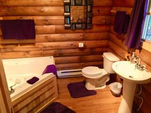 Rustic Log Cabins, Lodge  Lisbon - big - 24