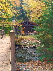 Rustic Log Cabins, Lodge  Lisbon - big - 25