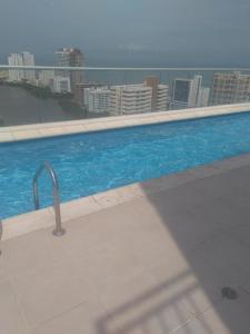 Apartamento Aqualina, Апартаменты  Картахена-де-Индиас - big - 45