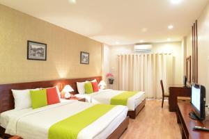 Golden Land Hotel, Отели  Ханой - big - 1