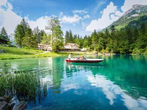Accommodation in Blausee