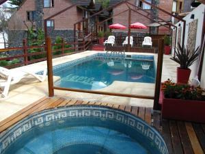 Loma Escondida Apart Cabañas & Spa, Turistaházak  Villa Gesell - big - 11