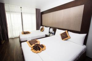 Moc Tra Hotel Tuan Chau Hạ Long, Отели  Халонг - big - 55