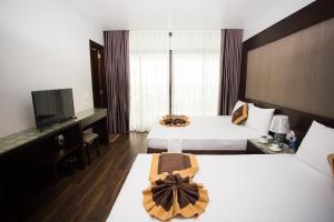Moc Tra Hotel Tuan Chau Hạ Long, Отели  Халонг - big - 56