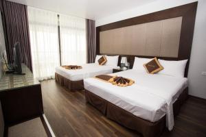 Moc Tra Hotel Tuan Chau Hạ Long, Отели  Халонг - big - 37