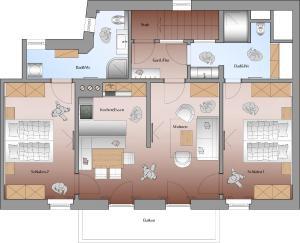 obrázek - Appartements Erwin & Eleonore Hüttl - Penthouse