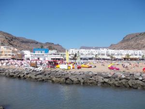 Mogan Beach, Apartmanok  Puerto de Mogán - big - 13