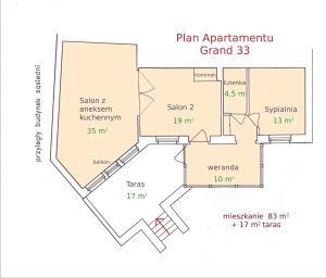 Apartament Grand 33