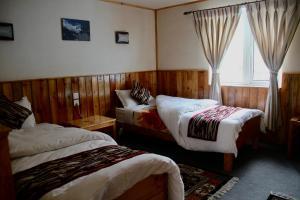 Panorama Lodge and Restaurant, Chaty v prírode  Nāmche Bāzār - big - 4
