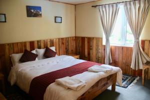 Panorama Lodge and Restaurant, Chaty v prírode  Nāmche Bāzār - big - 3