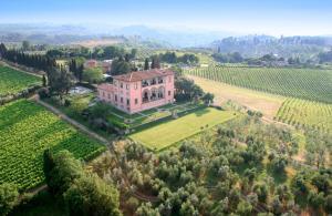 Villa Mangiacane, Hotely  San Casciano in Val di Pesa - big - 1