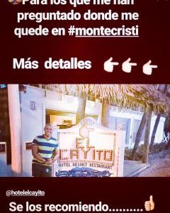 Hotel El Cayito Beach Resort Montecristi