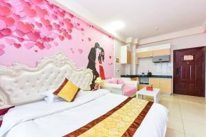 Guangzhou Bin Ke International Apartment Pazhou Branch, Appartamenti  Canton - big - 11