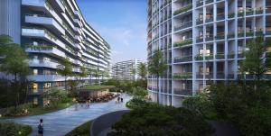 Bodaiju Residences, Апартаменты  Пномпень - big - 23