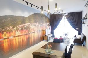 FlexiAsia BayView Apartment-Bora Resident, Ferienwohnungen - Johor Bahru