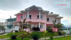 Casa Rosada, Magánszobák  Florianópolis - big - 1