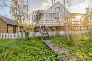 Beautiful house on the river Bank - Kurort