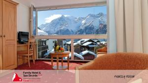 Family Hotel and Spa Desiree, Hotels  Grächen - big - 48