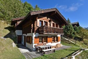 Chalet Fresch, Alpesi faházak  Grimentz - big - 13