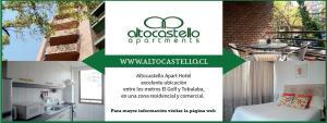 Altocastello Apartments, Apartments  Santiago - big - 74