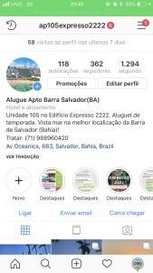Expresso 2222 -Salvador-Barra/Ba, Apartments  Salvador - big - 47