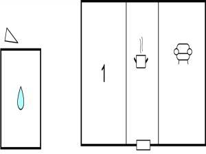 One-Bedroom Holiday home Karlskrona 0 02, Nyaralók  Karlskrona - big - 9