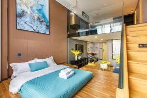 Lavendar Duplex Apartment, Apartments - Guangzhou