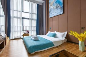 Lavendar Duplex Apartment, Apartments  Guangzhou - big - 6