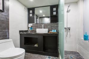 Lavendar Duplex Apartment, Apartments  Guangzhou - big - 9