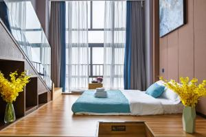 Lavendar Duplex Apartment, Apartments  Guangzhou - big - 10