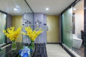 Lavendar Duplex Apartment, Apartments  Guangzhou - big - 15