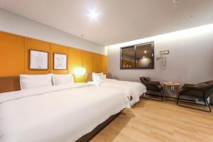 Brown-Dot Hotel Beomcheon, Hotely  Busan - big - 75