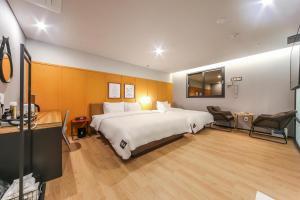 Brown-Dot Hotel Beomcheon, Hotely  Busan - big - 71