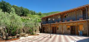 Albergue El Solitario, Vidiecke domy  Baños de Montemayor - big - 17