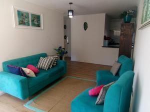 Departamento en Papudo, Апартаменты  Папудо - big - 28