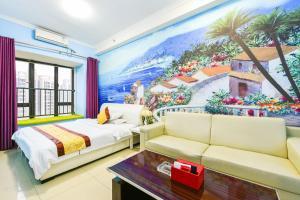 Guangzhou Bin Ke International Apartment Pazhou Branch, Appartamenti  Canton - big - 7