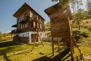 Pension Chalet Veľké Ostré Radola Slowakei