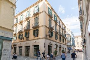 Marques de Larios Plaza Las Flores, Appartamenti  Malaga - big - 36