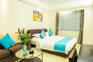 WAIFIDEN service Apartment Min Jian Fianance Branch, Appartamenti  Canton - big - 37