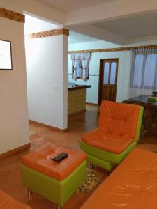 Apartahotel La Gran Familia, Apartmánové hotely  Villa de Leyva - big - 84